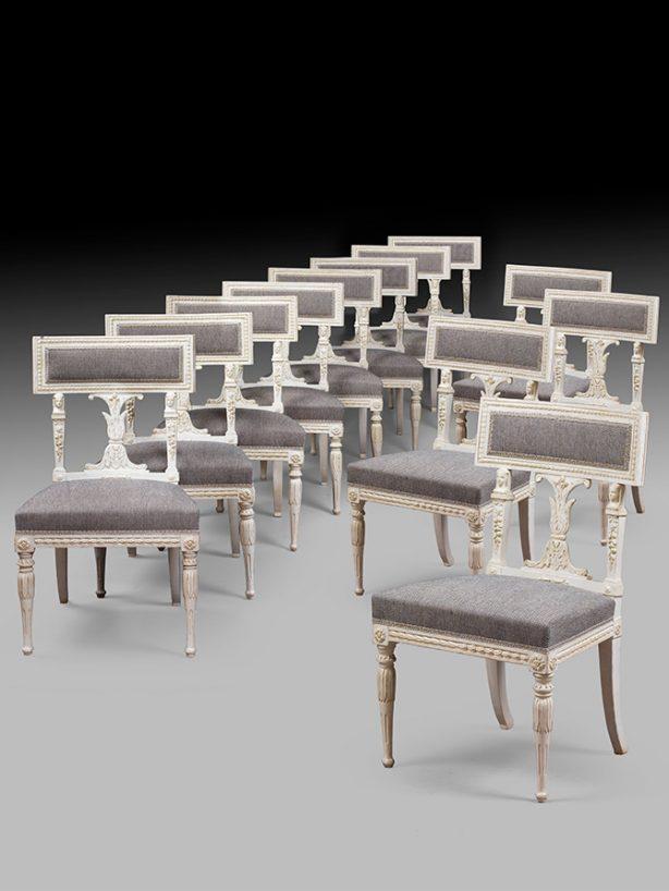 chaises suedoises