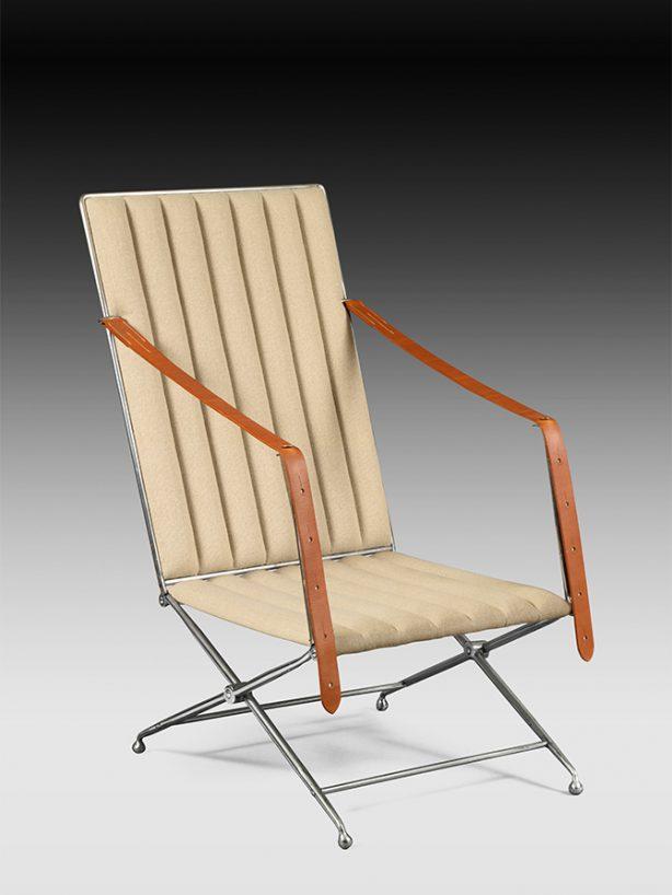 fauteuils acier