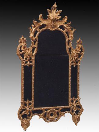 miroir palmette