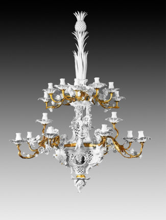 Berlin porcelain chandelier