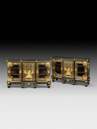 Boulle bookcases