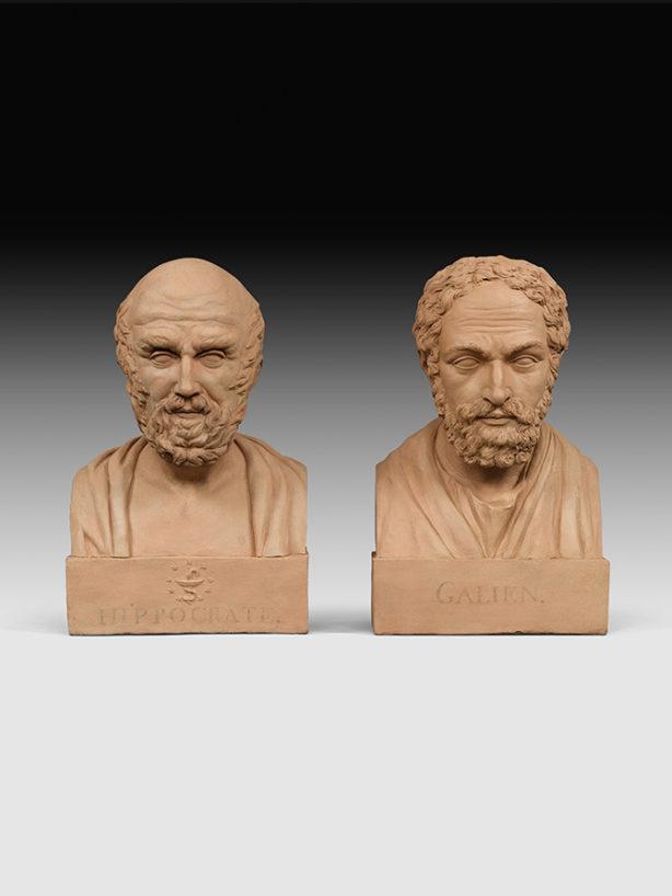Galien et Hippocrate