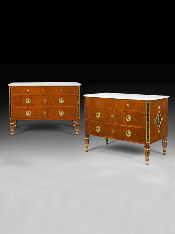 Pair of commodes